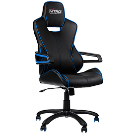 Nitro Concepts E200 Race Series Gaming Chair - Black/Blue Multi Format and Universal