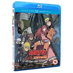 Naruto Shippuden Movie 4 The Lost Tower Blu-ray & DVD Blu-ray