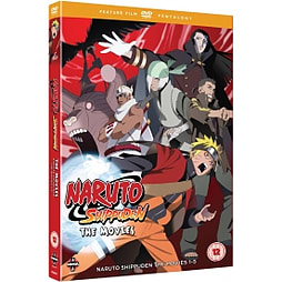 Naruto - Shippuden Movie Pentalogy DVD DVD
