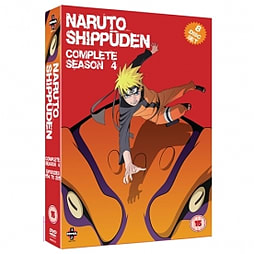 Naruto Shippuden Complete Series 4 Box Set Episodes 154-192 DVD DVD