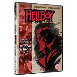 Hellboy Animated Sword Of Storms & Blood And Iron DVD DVD