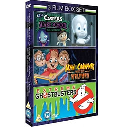 Casper Scare School Alvin & Chipmunks Meets The Wolfman Extreme Ghostbusters Vol 1 DVD DVD
