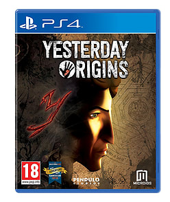 Yesterday Origins PS4 Cover Art