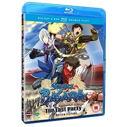 Sengoku Basara Samurai Kings Movie: The Last Party DVD/Blu-ray Double Play Blu-ray