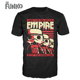 Funko - POP Tees: Star Wars - Stormtrooper Poster T-Shirt - XL Clothing