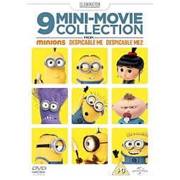 9 Mini Movie Collection From Minions Despicable Me 1 & 2 DVD DVD