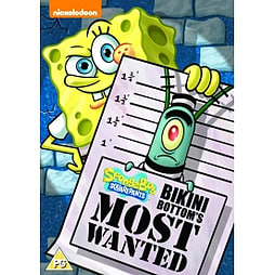 SpongeBob SquarePants: Bikini Bottom's Most Wanted DVD