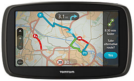 TomTom GO 60 6 Inch UK, Republic of Ireland, Western Europe Almost Like New Condition Sat Navs