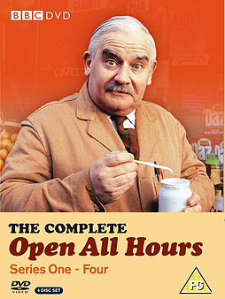 Open All Hours: The Complete Collection - Series 1, 2, 3 and 4 - New DVD Boxset DVD