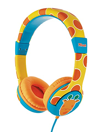 Trust Spila Kids - Giraffe Head-band CyanOrangeYellow Multi Format and Universal