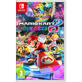 Mario Kart 8 Deluxe- Nintendo Switch Nintendo Switch Cover Art