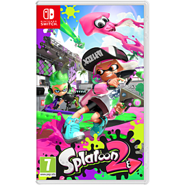 Splatoon 2 Plus Free Pin Badge Set Nintendo Switch Cover Art
