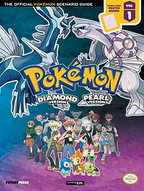Pokemon Diamond & Pearl Volume 1 Scenario Guide Books