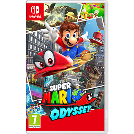 Super Mario Odyssey Plus Free Cappy Hat Nintendo Switch Cover Art