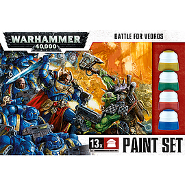 Battle for Vedros Paint Set Scaled Models