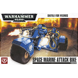 Battle for Vedros Space Marine Attack Bike Scaled Models