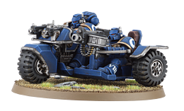 Battle for Vedros Space Marine Attack Bike screen shot 1