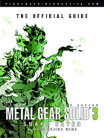 Metal Gear Solid 3 Snake Eater Official Guide Books