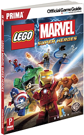 Lego Marvel Super Heroes Strategy Guide Books