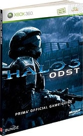 Halo 3 ODST Official Game Guide Books