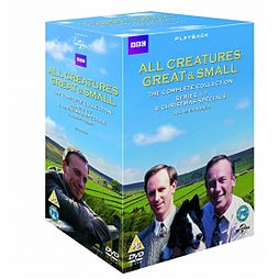 All Creatures Great And Small The Complete Series Box Set DVD DVD