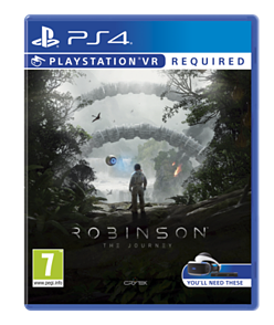 Robinson: The Journey PS4 Cover Art