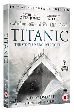 Titanic Mini Series catherine Zeta Jones (2 Disc ) DVD DVD