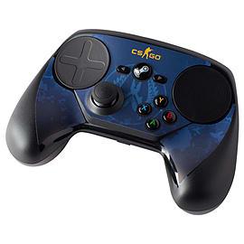 Steam Controller Skin - CSGO Blue Camo Steam (Non Digital)