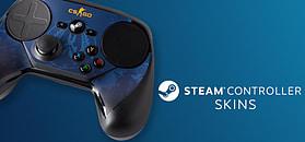 Steam Controller Skin - CSGO Blue Camo screen shot 1
