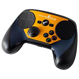 Steam Controller Skin - CSGO Blue/Orange Steam (Non Digital)