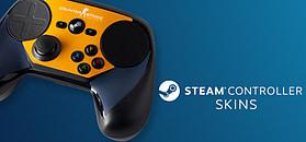 Steam Controller Skin - CSGO Blue/Orange screen shot 1