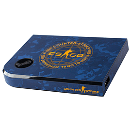 Steam Link Skin - CSGO Blue Camo Steam (Non Digital)