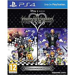 Kingdom Hearts HD 1.5 & 2.5 Remix PS4 Cover Art