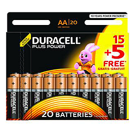 DURACELL/MN1500B15-5/AA/General Batteries Audio
