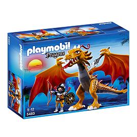 Playmobil Dragons Flame Dragon Blocks and Bricks
