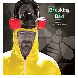 Breaking Bad Calendar 2017 heisenburg call saul 30 x 30cm new Official wallSize: Books