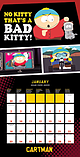 South Park Calendar 2017 Cartman kenny Stan Kyle 30 x 30cm new Official wallSize: screen shot 1