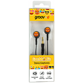 EarMOJI Earphones Angry Face Multi Format and Universal
