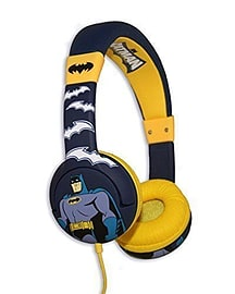 DC Batman 'The Brave and The Bold' Kids Childrens Over Ear Volume Limited Headphones Audio