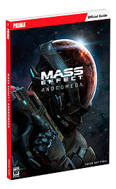 Mass Effect: Andromeda Standard Edition Strategy Guide Books