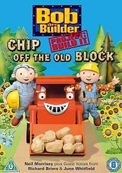 Bob The Builder - Project: Build It! - Chip Off The Old Block DVD 2005 DVD
