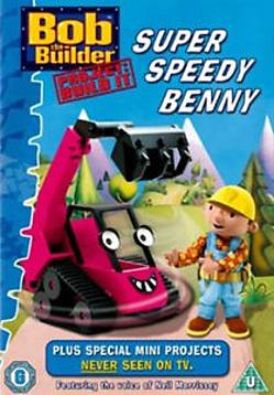 Bob the Builder: Project, Build It - Super Speedy Benny [DVD] DVD