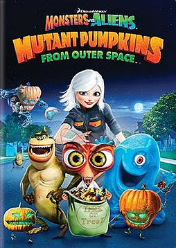 Monsters vs Aliens Mutant Pumpkins from Outer Space DVD DVD