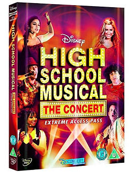 High School Musical - The Concert - Extreme Access Pass [DVD] DVD