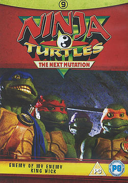 Ninja Turtles 9 The Next Mutation Enemy of my enemy and King Wick DVD DVD