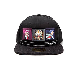 Pokemon Baseball Cap Team Rocket new Official Black Snapback Clothing