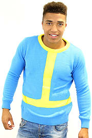 Vault Boy Official Fallout Jumper / Sweater (L) Clothing