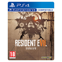 Resident Evil 7 Biohazard Steelbook Edition PS4 Cover Art