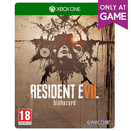 Resident Evil 7 Biohazard Steelbook Edition XBOX ONE Cover Art