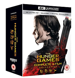 The Hunger Games Complete Collection 4K (Blu-ray) Blu-ray